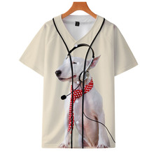 Baseball-Jersey Customized Men Youth's Training Comfortable 3D And Thin Men's Casual
