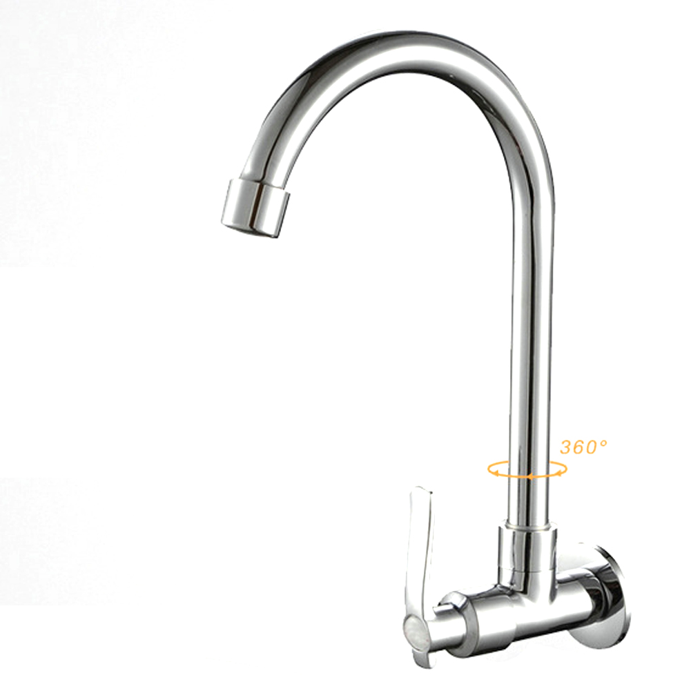 6 Types Deck Mounted Wall Mounted Cold Water Universal Rotatable Vegetable Kitchen Faucet