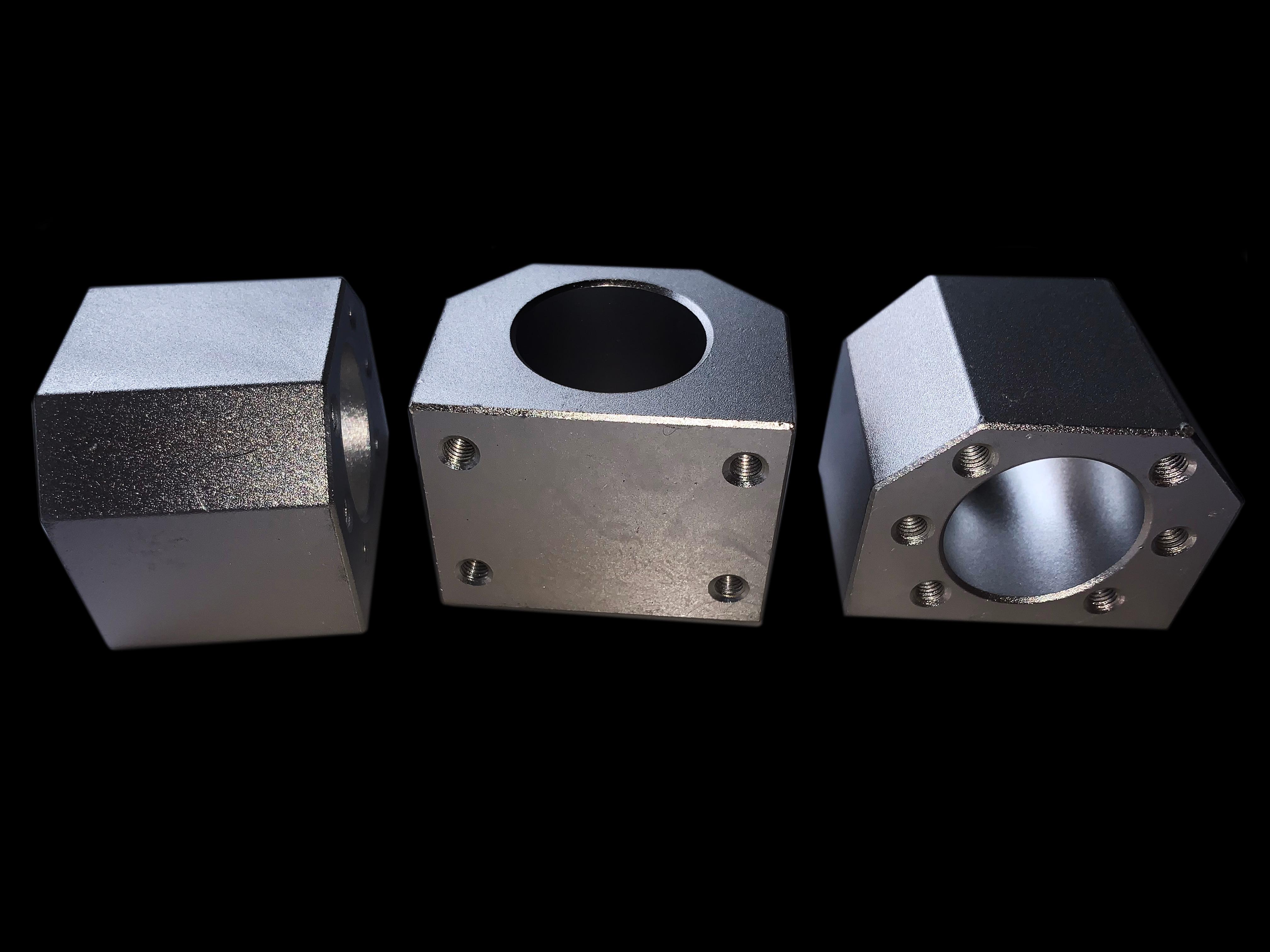 Aluminium Alloy Kugelumlaufspindel Nut Housing Bracker Halter fit for SFU2505