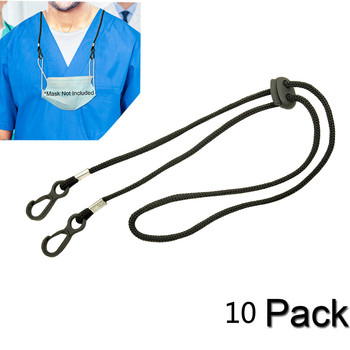1/5/10PCS Adjustable Face Mask Lanyard Handy&Convenient Safety Sports Mask Rest&Ear Holder Rope Mouth Mask Accessories 0728