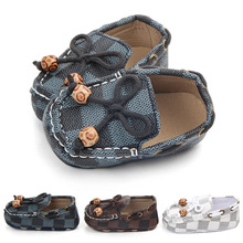 Toddler First Walker Baby Shoes Canvas Boy Girl Soft Sole Comfort Crib