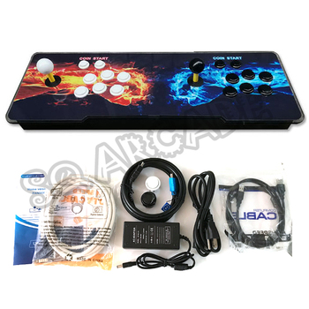 Newest 2177 in 1 3D Video Arcade Game Machine 1220 in 1 updated version Arcade Console Double Arcade Joystick VGA / HDMI Output фото
