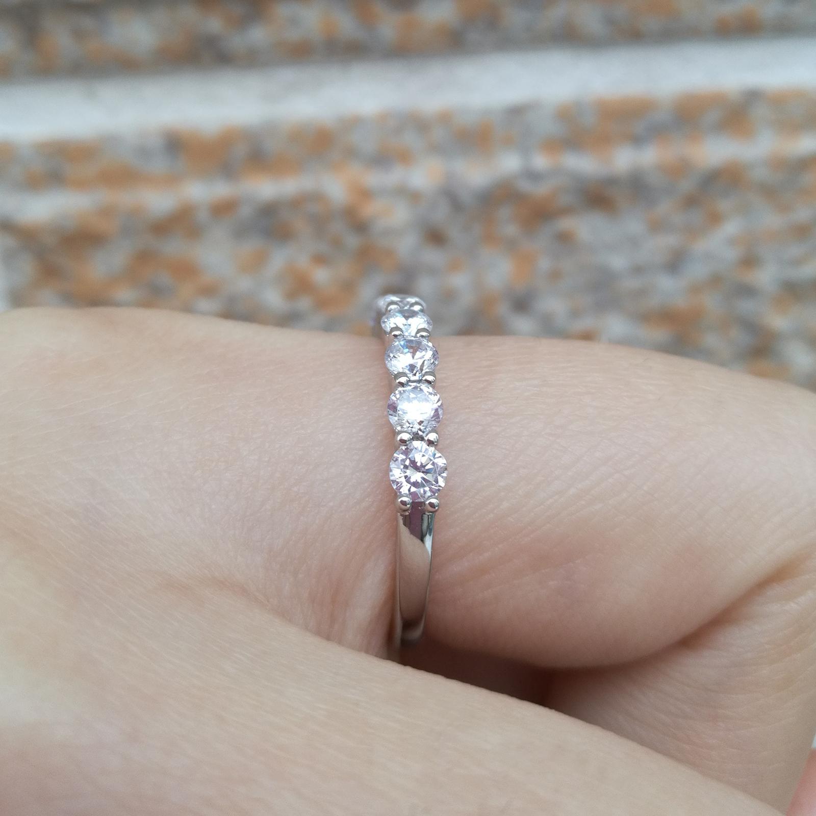 Silver Wedding Engagement Rings  - 1mrk.com