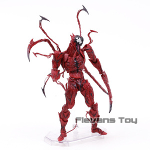 Image 3 - Marvel Revoltech Series NO.008 Carnage Deadpool Spiderman Gwen Stacy Venom Wolverine Magneto Captain America Action Figure Toy