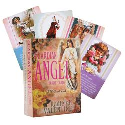 78pcs Guardian Angel Tarot Cards Full English Outdoor Party Guidance Divination Fate Game Board Oracle Cards Table Deck Games
