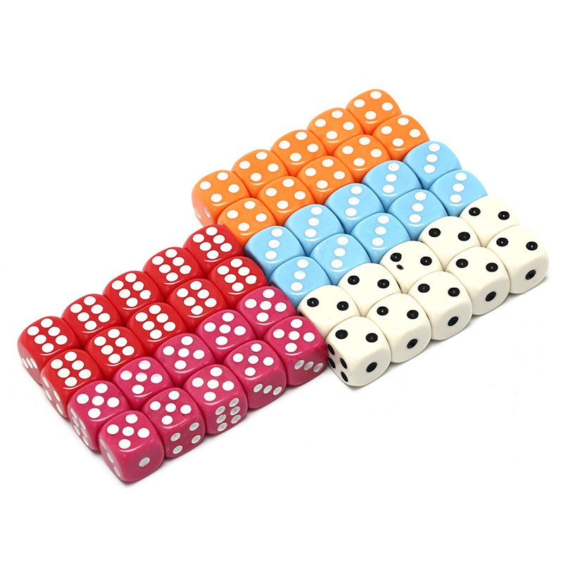 Set of small dice 6 dice