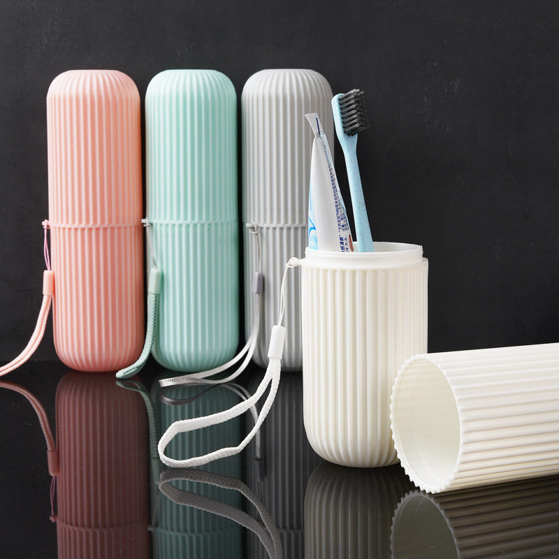 1PCS Travel Accessories Unisex Toothbrush Tube Cover Case Cap Women Men Wash Toothbrush Toiletries Storage Box Pouch Organizer