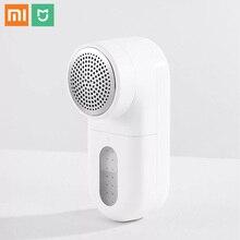 Nouveau Xiaomi Mijia Portable charpie dissolvant 5 feuilles Cyclone flottant coupe tête cheveux boule tondeuse chandail dissolvant Mini moteur tondeuse