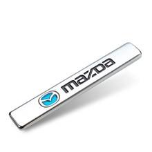 1 шт. Эмблема для стайлинга автомобиля 3D металлический автомобильный брызговик багажник значок наклейки для Mazda 3 Mazda 6 Atenza Axela Demio CX3 CX5 MP MS