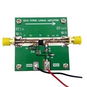 Image 4 - RF2126 400MHZ 2700MHZ broadband RF Power Amplifier 2.4GHZ 1W For Bluetooth Ham Radio Amplifier with heat sink