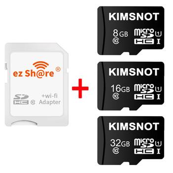 Karty do smartfona TV ezshare 8GB 16GB bezprzewodowy WiFi karty SD TF karta Microsd do Adapter do kart SD obsługuje 8GB 16GB Micro sd o pojemności 32GB tanie i dobre opinie kimsnot NONE Camera ez171226 CN (pochodzenie) WIFI SD