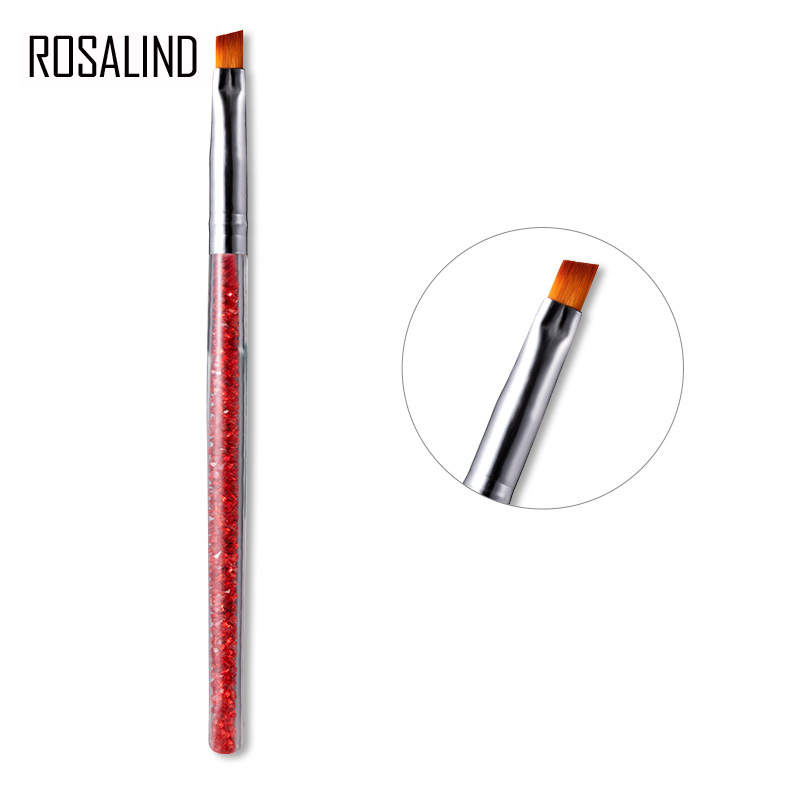 ROSALIND Nail Brushes For Acrylic Gel 1PCS Optional Gel Varnish Flower Drawing For Manicure Design Of Nails Art Extension Tool