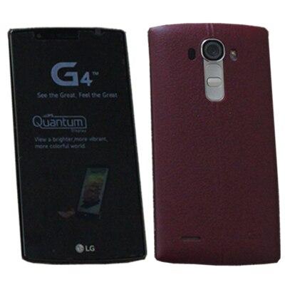 Разблокированный LG G4 H815 H811 H810 5,5 дюймов 16,0 Мп камера четырехъядерный 3 ГБ ОЗУ 32 Гб ПЗУ 1080P смартфон - Цвет: Red