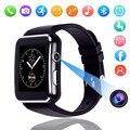 X6 изогнутый экран Bluetooth Смарт часы телефон мат для samsung/Android/iOS