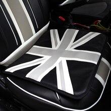 1pcs Car Seat Cushion Cover PU Leather Seat Pad Mat For Mini Cooper R50 R52 R53 R55 R56 R60 R61 F54 F55 F56 F60 Car Accessories