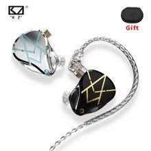 KZ-auriculares ASX HIFI con control de graves, auriculares de armazón equilibrado, cancelación de ruido, deportivos, 20 unidades