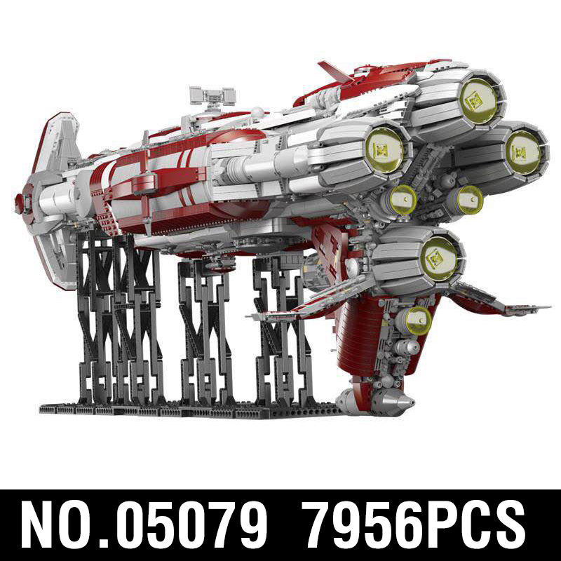 05079 Star Toys Wars The MOC Zenith Old Republic Escort Cruiser Model Compatible With Legoing Building Blocks Kid Christmas Gift 5