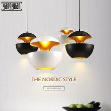 Nordic modern Led Chandeliers Lighting Dining Room Aluminum Pendant Chandelier Lights Restaurant Hanging Lamp Fixtures