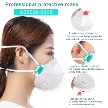 10/20/50PCS KN95 Protective Mask N95 Valve Masks Particulate Respirator Flu Anti Infection PM2.5 Protective Same As KF94 FFP2