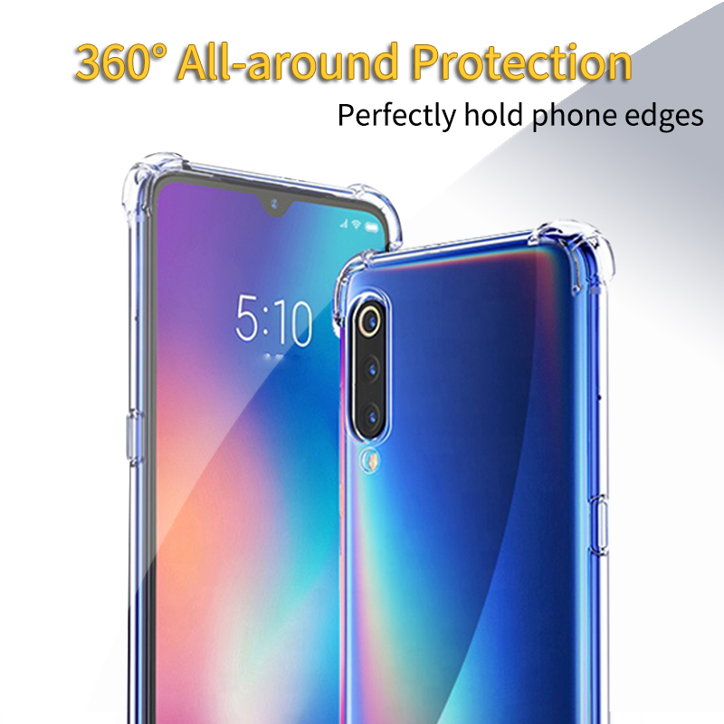 Airbag <font><b>Soft</b></font> TPU <font><b>Case</b></font> <font><b>For</b></font> <font><b>Xiaomi</b></font> <font><b>mi</b></font> <font><b>9</b></font> <font><b>se</b></font> Redmi 7a note 7 Thin Slim Airbag Back Cover <font><b>for</b></font> <font><b>Xiaomi</b></font> Redmi note 8 pro <font><b>Shockproof</b></font> Clear image