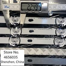 10 قطعة LED شريط إضاءة خلفي ل LG 55LF652V 55LB630V 55LB650V LC550DUH FG 55LF5610 55LF580V 55LF5800 55LB630V 55LB6300