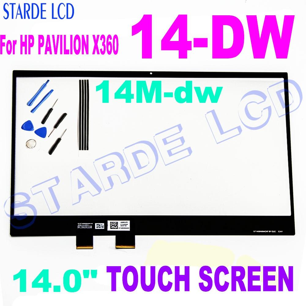 14m-dw series 14-dw, painel digital com tela sensível ao toque