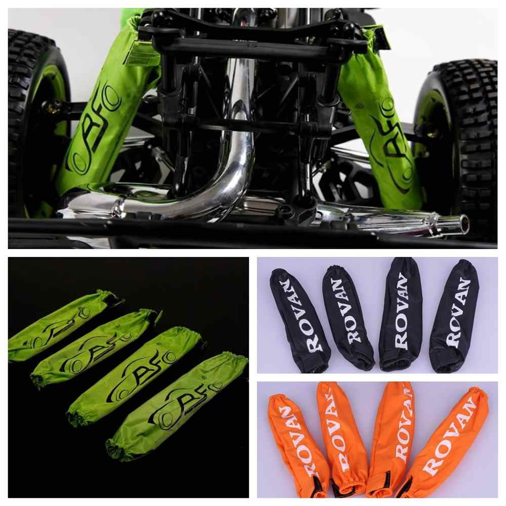 Shock Absorption Dust Cover for 1//5 HPI Rovan KM BAJA 5B 5T 5SC Rc Car Gas PARTS