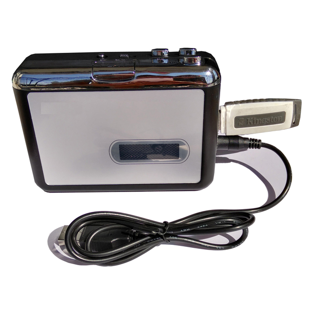 Grabadora de cassette de cinta nueva, convertir cassette de cinta a mp3 en disco Flash USB, no se requiere pc, reproducción, envío gratis, 2017
