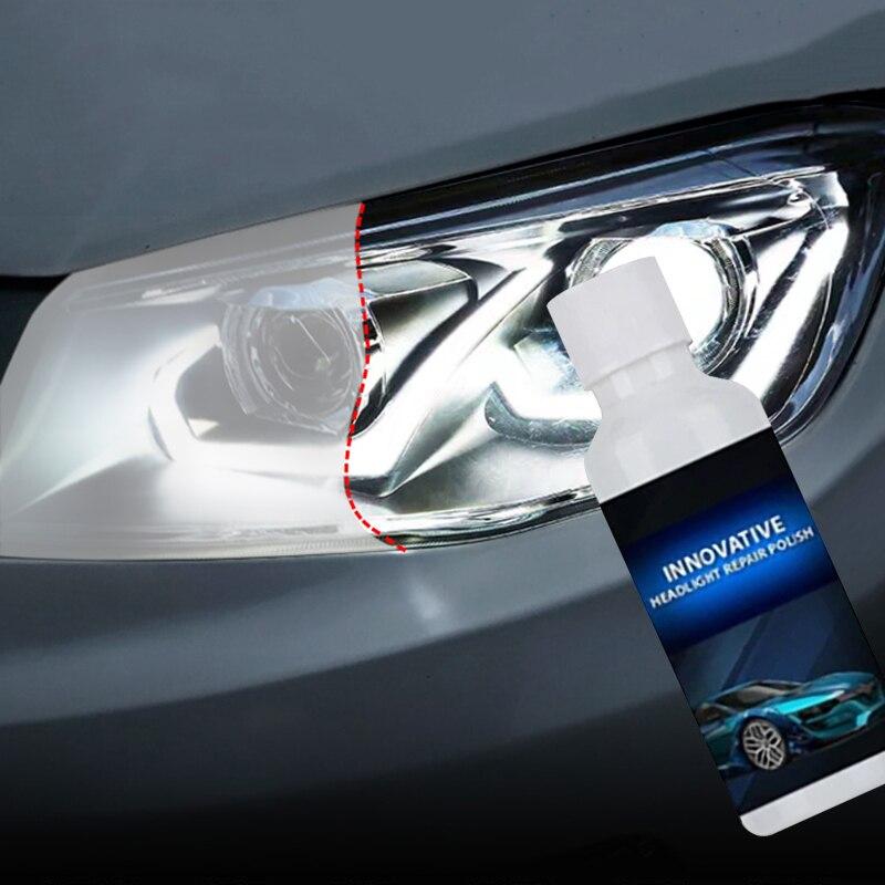 1 шт. 20 мл для шлифовки автомобилей головной светильник ремонт жидкости автомобильный светильник и починки окна Стекло очиститель автомоби...