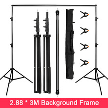 2.8*3M Background Frame Photography Backdrop Aluminum Support System Stands for Photo Studio Background Photography backdrops washable backdrops mysterious fairyland arcway fleece photography backdrop for studio photography background f 1491 a
