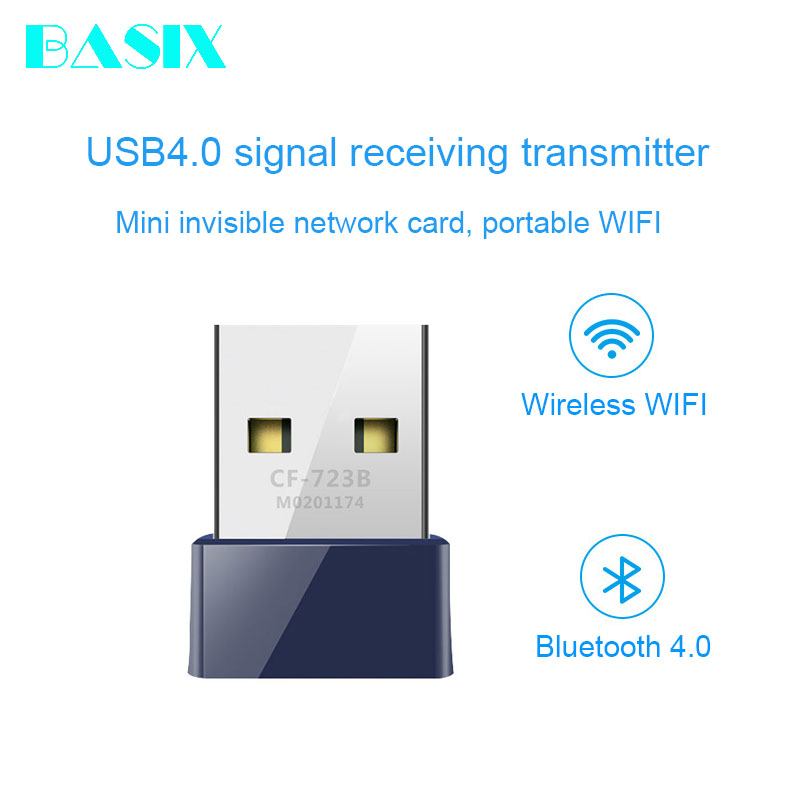 150Mbps USB 2.0 Wireless Bluetooth WiFi Network Card Receiver Adapter Dongle