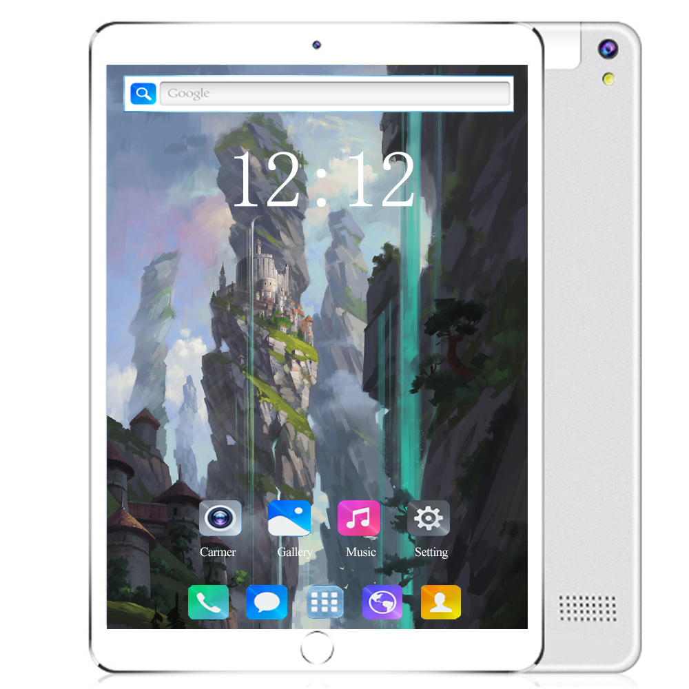 2020 10.1 Inch Dual Sim 4G LTE Tablet PC 8 Octa Core 6GB RAM 64GB 128GB ROM 1280*800 IPS 5000mAh  Android 8.0 Tablets Gifts
