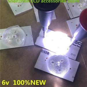 Image 1 - 70Pieces/lot  6V  Lens general LCD TV modified LED lamp bead lamp  32 65 inch repair LCD TV backlight Bar  100%NEW