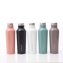 500ML Stainless Steel Double Wall Insulated Thermos Cup Vacuum Flask Coffee Mug Travel Drink Bottle Lovers Home Sport Thermocup 900ml stainless steel insulated cup with lid double wall vacuum thermos bottle thermos for food travel coffee mug car ice cup