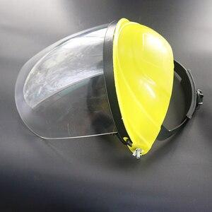 Image 3 - Anti choque protetor máscara facial completa capacete de soldagem anti uv segurança clara anti respingo escudo viseira suprimentos de proteção de local de trabalho