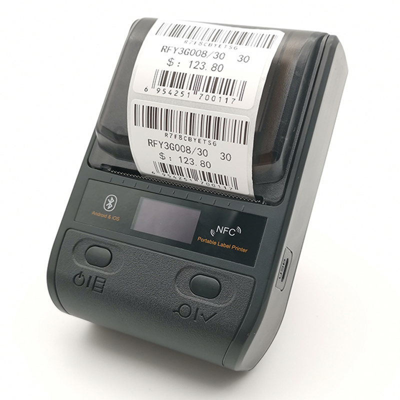 Portable Bluetooth Thermal Label Printer Mini 58/80mm Receipt Printer For Mobile Phone Ipad Android / IOS/Windows