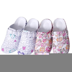 Image 5 - Hot Top Women Slippers Cartoon Girls Operating Room Slipper Summer Female Beach Shoes Doctor Surgical Shoes Non slip Nurse Shoes