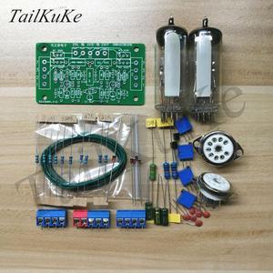 Image 2 - Kit de placa de controlador de ojo de gato de tubo Dual 6E2, amplificador DIY
