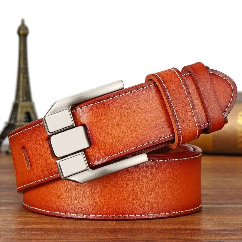 Belts   men real cow leather business designer   belt   men vintage luxury quality genuine leather   belt   man buckles for trousers 6168