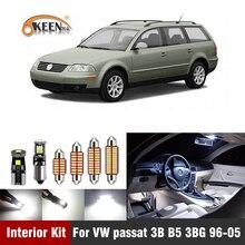 13 stücke Auto LED Innen Licht Kit Für Volkswagen VW Passat 3B B5 3BG 1996 2005 Dome Karte Licht auto Zubehör