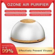 цена на GX.Diffuser Rechargeable USB Air Purifier Air Cleaner Sterilization Mini Ozone Purifier Ionizer Air Freshener Prevents Viruses