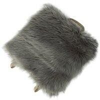 Faux Sheepskin Car Seat Home Cushion Fur Pad Cover Warm Mat|Seat Supports| |  -