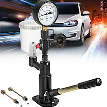 Tester Diesel-Injector 6000PSI with Dual-Scale Gauge Adjust Nozzle-Pressure 400bar
