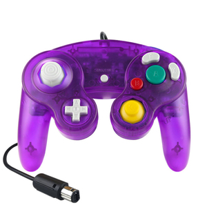 Image 5 - Joypad Gamepad cablato trasparente per Nintendo per Controller NGC utilizzato per la porta della Console del Computer MAC