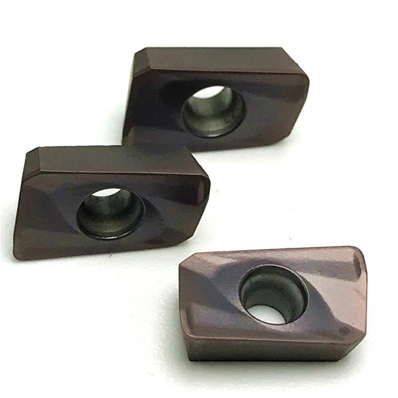 Купить с кэшбэком 10PCS APMT1135 PDER M2 H2 VP15TF Carbide Inserts Lathe Milling Mill Cnc Tools