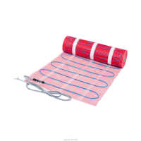 Electrical underfloor heating mat for bathroom indoor warming 230V 100W/M2