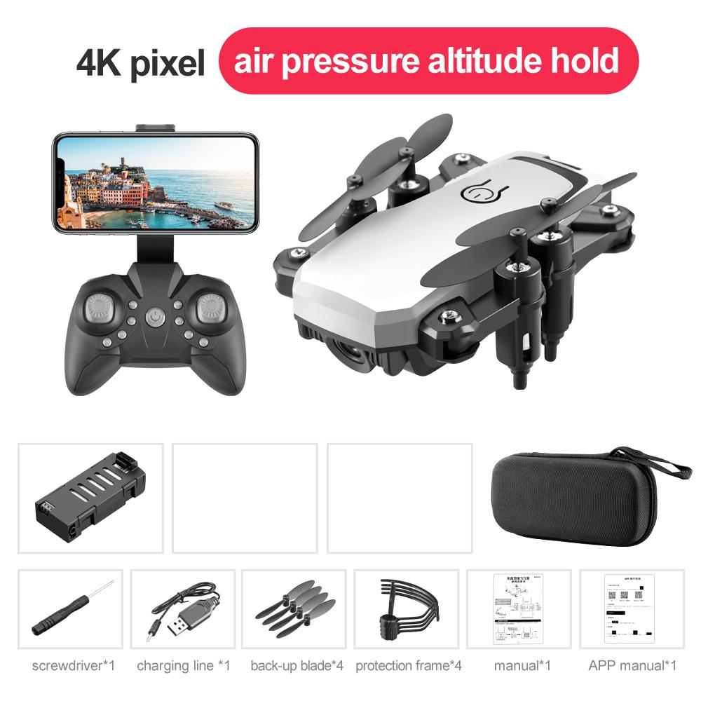 RCtown LF606 Wifi FPV Foldable RC Drone 4K HD Camera Altitude Hold 3D Flips Headless RC Helicopter Aircraft Airplane