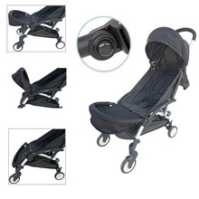Baby Stroller Accessories Footboard for Babyzenes Yoyo Yoya Carriage Foot Rest Feet Extension 32cm Footmuff for Vovo Babytime(China)