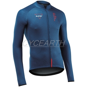 New Style! NW 2019 Cycling Jersey Long Sleeve Pro Team Autumn/Spring Shirt Bike Clothing Bicycle Maillot MTB Clothes Northwave(China)