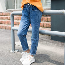 Get more info on the Teenagers Jeans for Girls Denim Pants Solid Jeans Girl Children's Trousers Teenage Costumes For Girls 5 7 9 11 13 14 Year Old